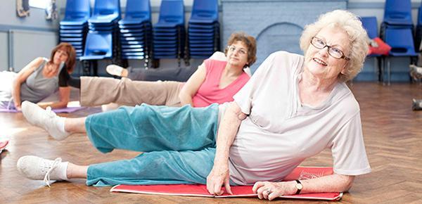 Лечебная гимнастика для пожилых людей