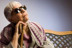 пансионат для слепых