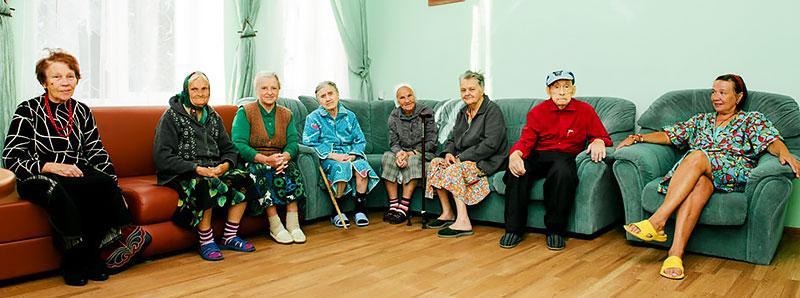 пансионат для престарелых в Москве