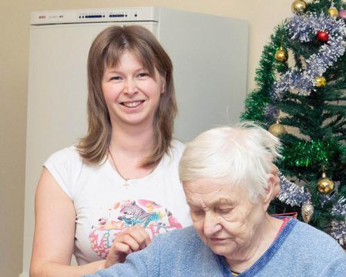 услуги пансионата для престарелых в Луховицах