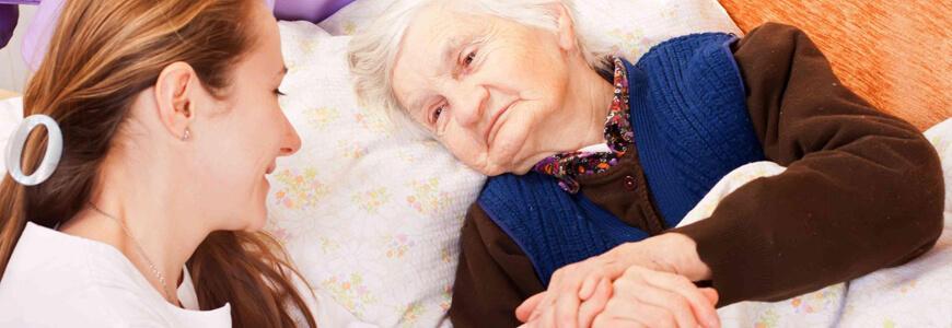 уход в доме престарелых в Клину