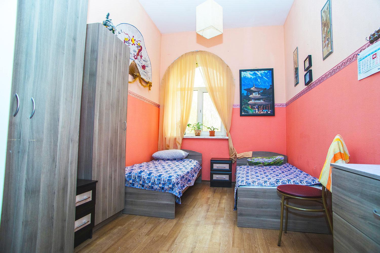 комнаты для постояльцев дома престарелых