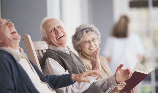 досуг в доме престарелых в Химках