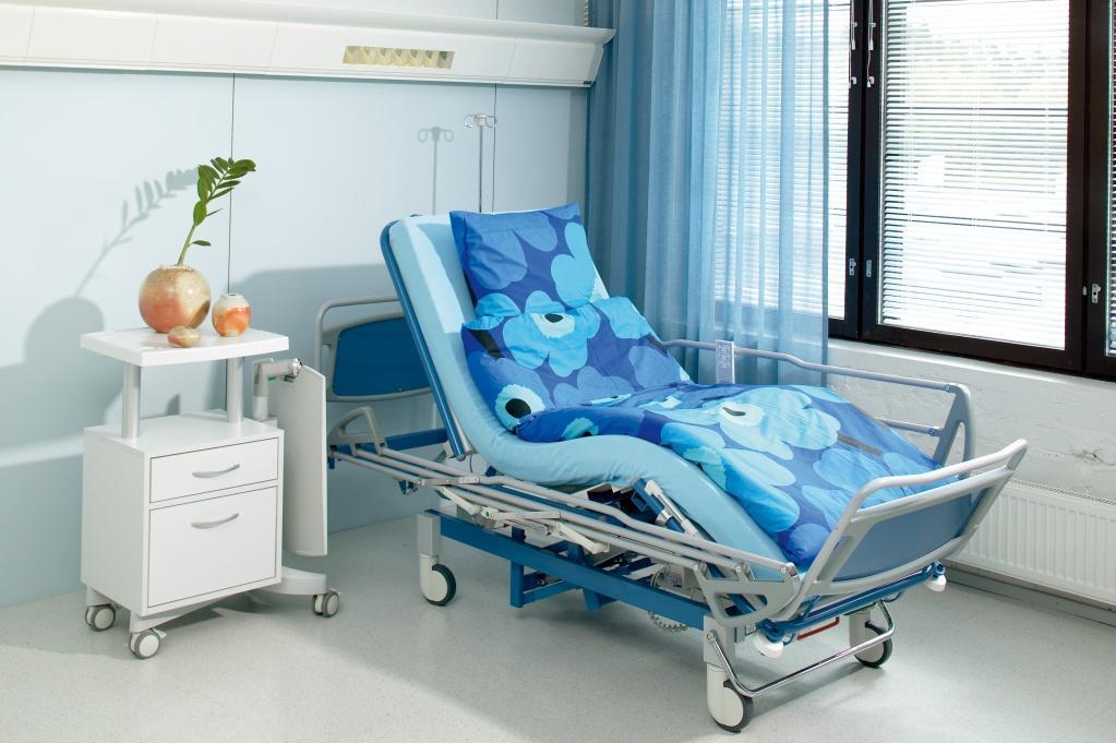 оборудованная комната для лежачего пациента
