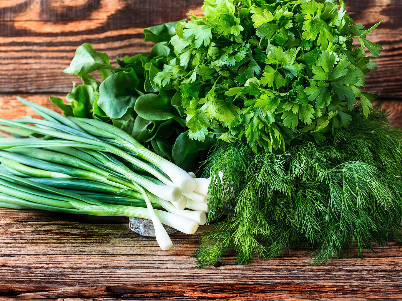витамины с огорода