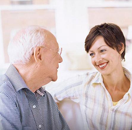 диалог с престарелым родственником