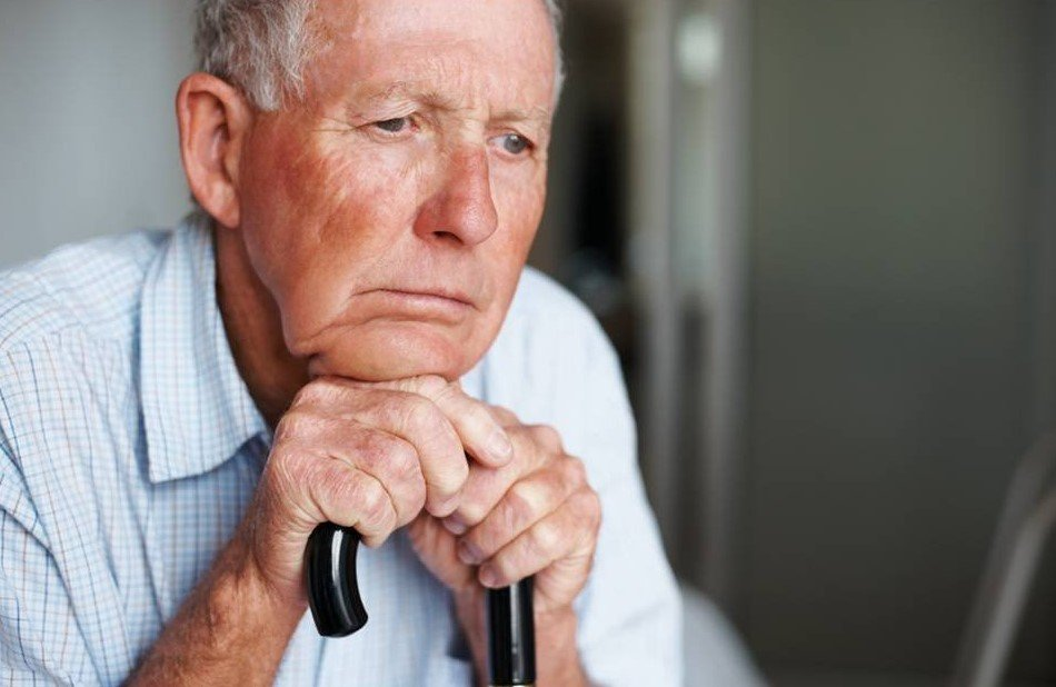 мужчина в старости