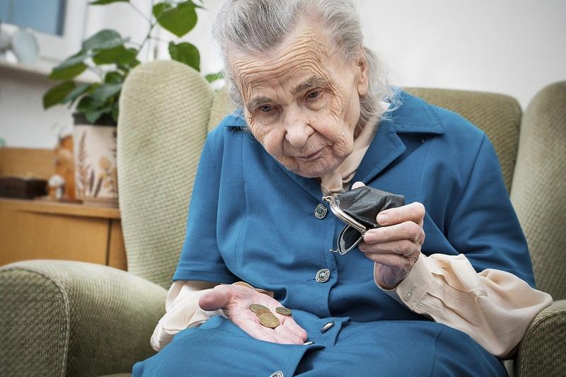 скупая бабушка