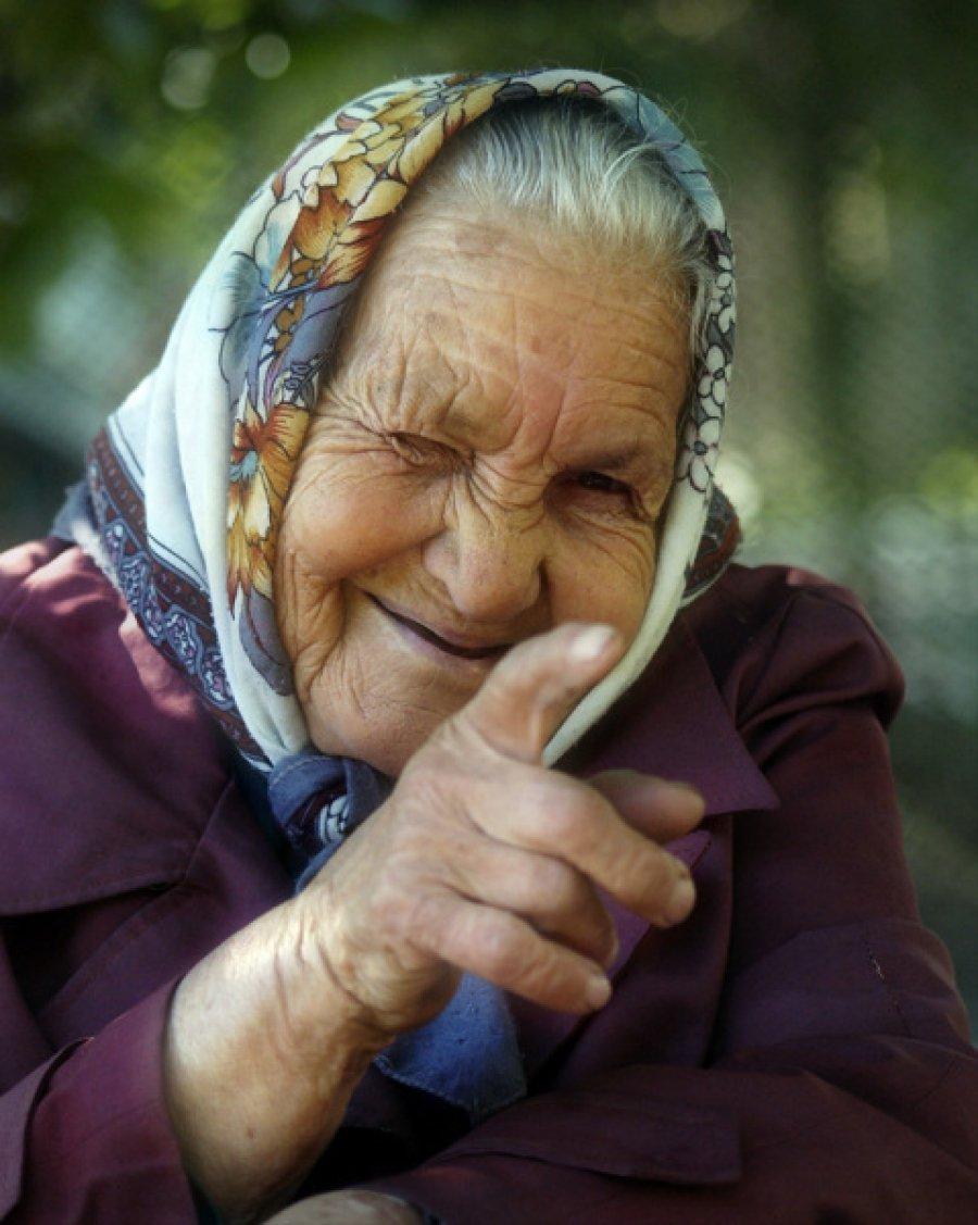 позитивная старушка