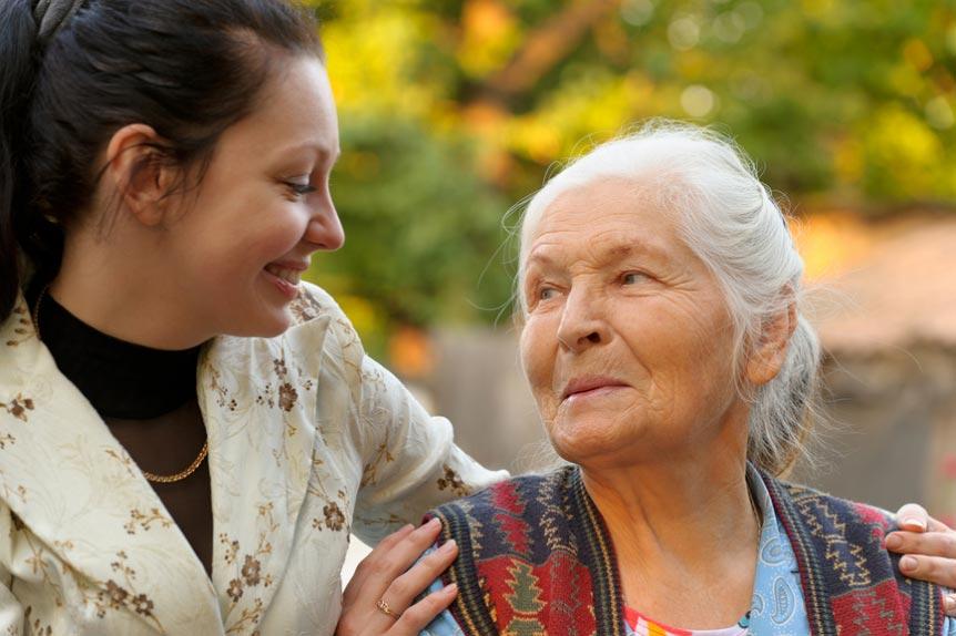 сиделка для бабушки
