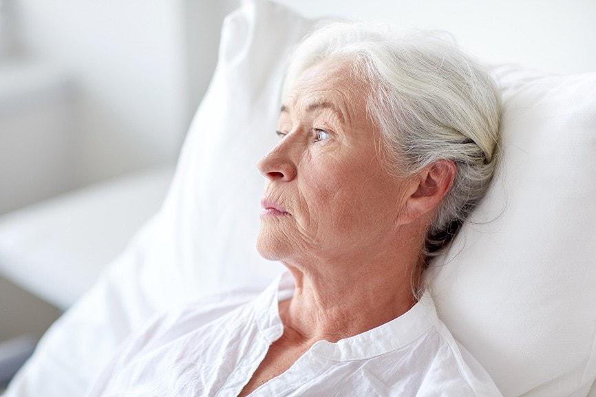 бабушка с анемией