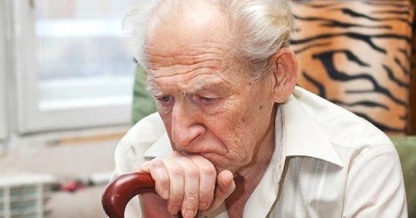 пенсионер без настроения