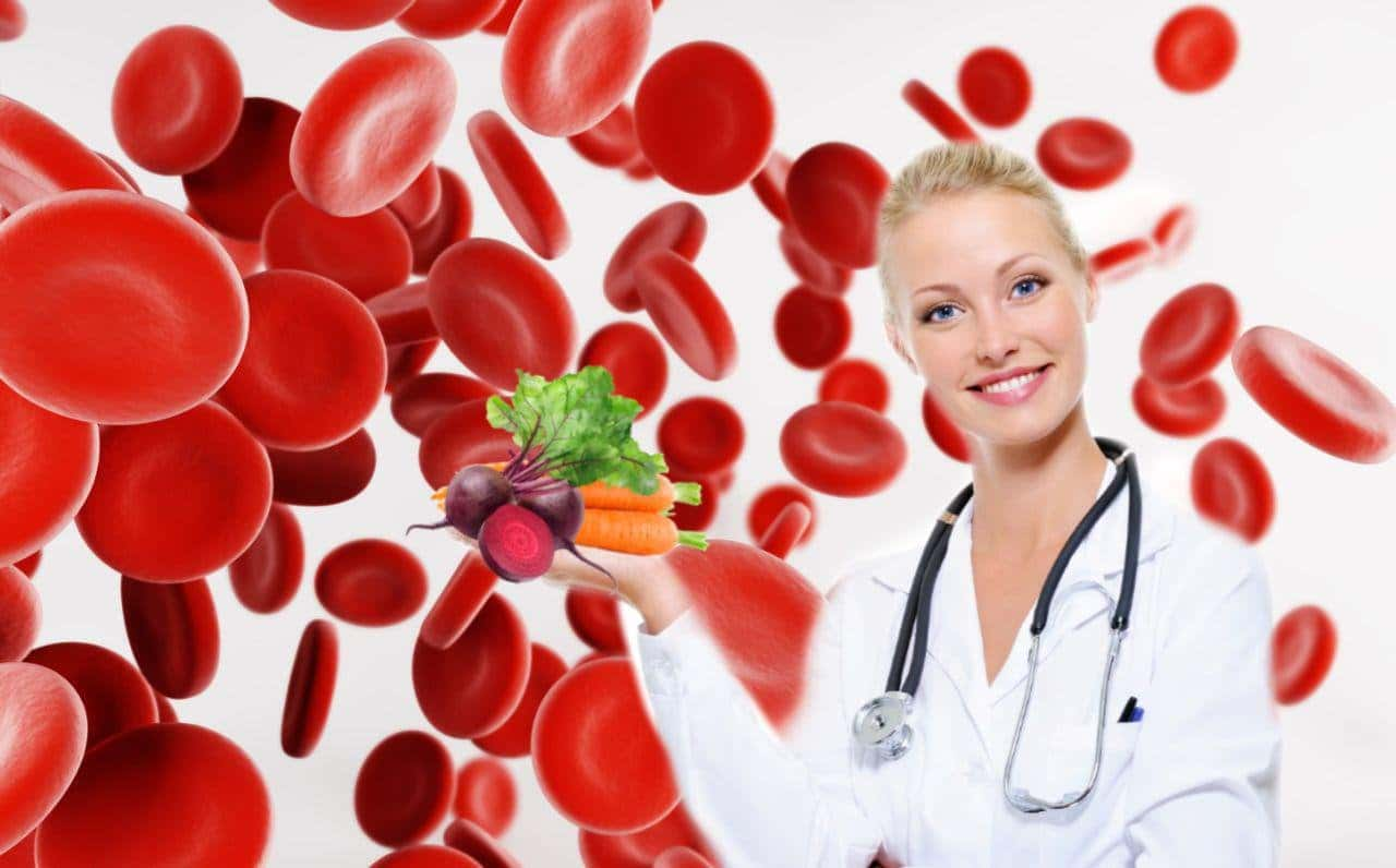 пониженый гемоглобин