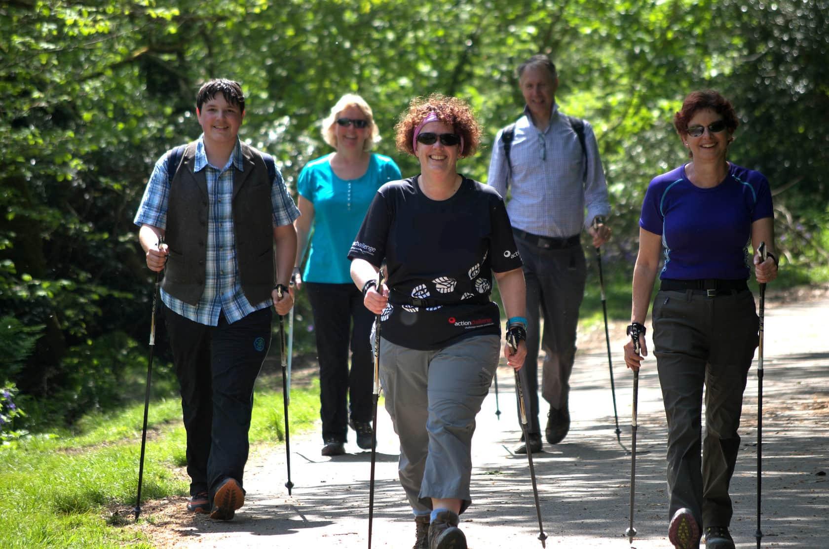 ходьба пенсионеров