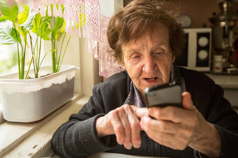 смартфон для бабушки