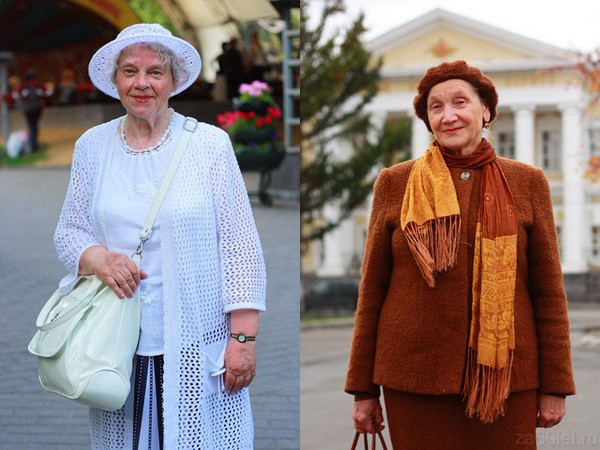 одежда для бабушки
