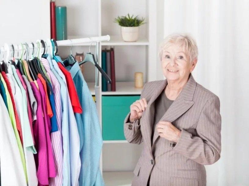 выбора одежды для пенсионеров