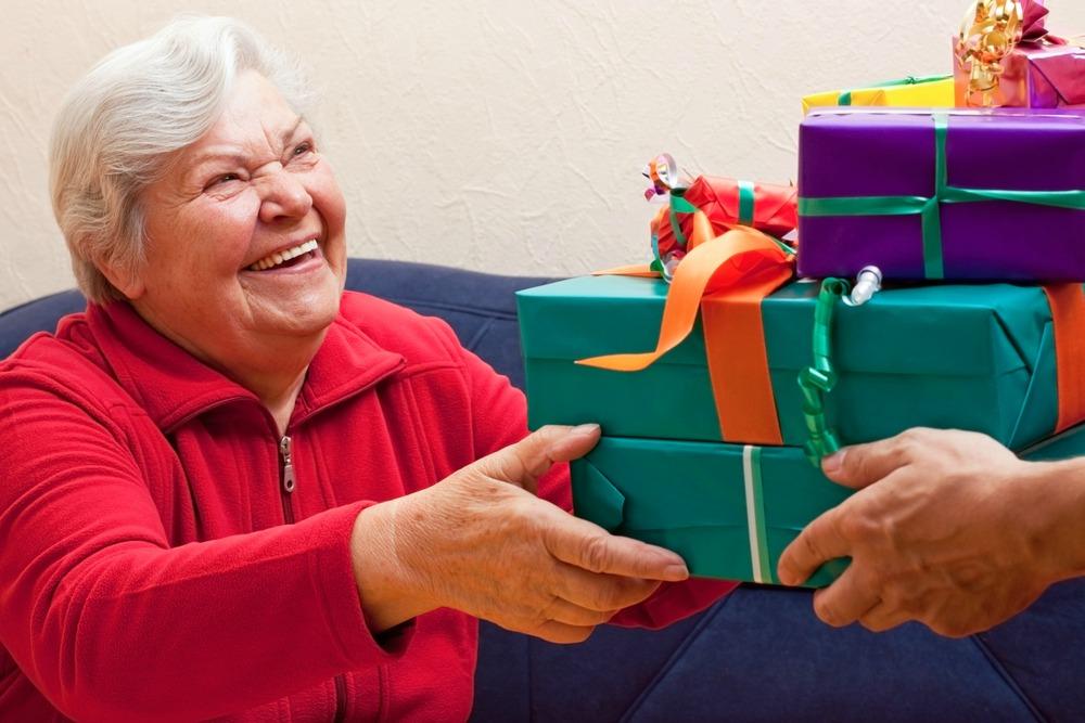 подарки для пожилых